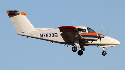 N7633B - Beechcraft 76 Duchess - Private