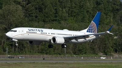 N47517 - Boeing 737-9 MAX - United Airlines