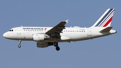 F-GRHZ - Airbus A319-111 - Air France