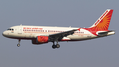 A picture of VTSCG - Airbus A319112 - Air India - © Akshay M