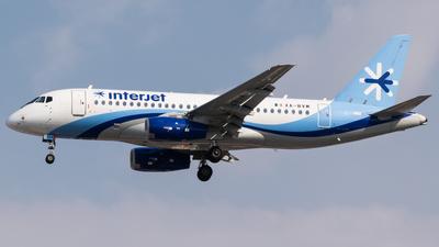A picture of XABVM - Sukhoi Superjet 10095B - Interjet - © Gabriel Mora