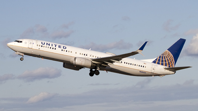 A picture of N68453 - Boeing 737924(ER) - United Airlines - © Jeremy D. Dando