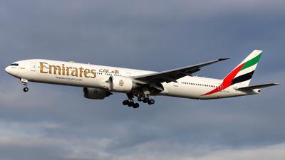 A picture of A6EQJ - Boeing 77731H(ER) - Emirates - © Daniel Klein