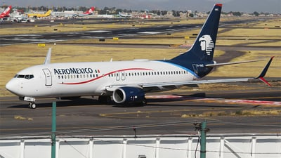 A picture of XAAMC - Boeing 737852 - Aeromexico - © Alejandro Aceves