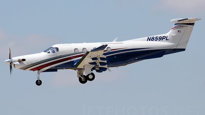 N859PL - Pilatus PC-12/47 - Private