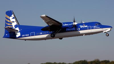 OO-VLN - Fokker 50 - VLM Airlines