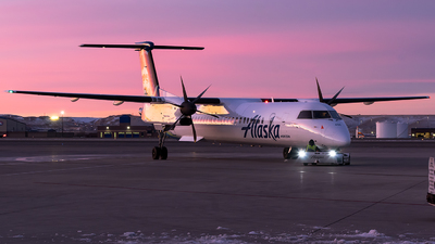 N436QX - Bombardier Dash 8-Q402 - Alaska Airlines (Horizon Air)