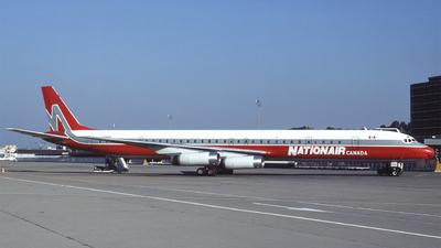 C-GQBA - Douglas DC-8-63 - Nationair Canada