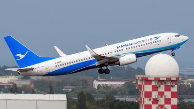 A picture of B5565 - Boeing 73786N - Xiamen Air - © Huang Chengjen