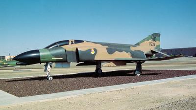63-7537 - McDonnell Douglas F-4C Phantom II - United States - US Air Force (USAF)