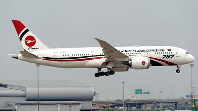 S2-AJT - Boeing 787-8 Dreamliner - Biman Bangladesh Airlines