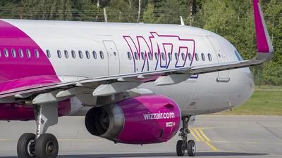 HA-LXM - Airbus A321-231 - Wizz Air