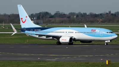 A picture of DATUR - Boeing 7378K5 - TUI fly - © Stefan Bayer