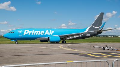 N855DM - Boeing 737-83N(SF) - Amazon Prime Air