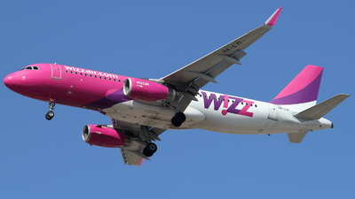 A picture of HALYI - Airbus A320232 - Wizz Air - © ikeharel