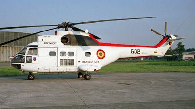 G02 - Aérospatiale SA 330L Puma - Belgium - Federal Police