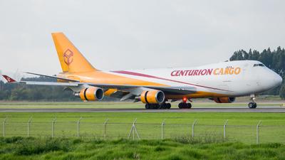 N904AR - Boeing 747-428ERF - Centurion Air Cargo
