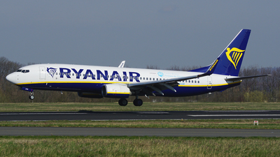 A picture of EIDYM - Boeing 7378AS - Ryanair - © S. Eckhardt