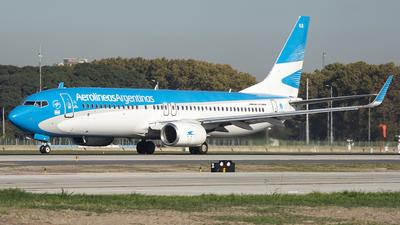A picture of LVGKS - Boeing 737887 - Aerolineas Argentinas - © Ezequiel Catalano