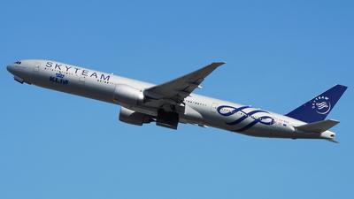 PH-BVD - Boeing 777-306ER - KLM Royal Dutch Airlines