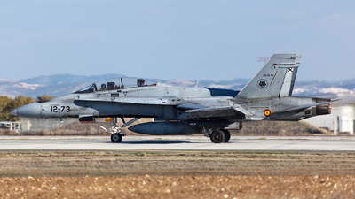 CE.15-10 - McDonnell Douglas EF-18BM Hornet - Spain - Air Force