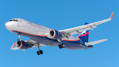 A picture of VPBTA - Airbus A320214 - Aeroflot - © Aleksandr Alekhichev