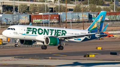 A picture of N316FR - Airbus A320251N - Frontier Airlines - © Ricky Teteris