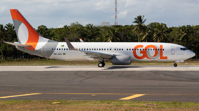 A picture of PRGZU - Boeing 7378AS - GOL Linhas Aereas - © Henrique Pessoa