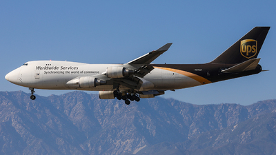 A picture of N576UP - Boeing 74744A(F) - UPS Airlines - © KenKen Huang