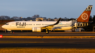 DQ-FJH - Boeing 737-8X2 - Fiji Airways