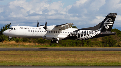 ZK-MVH - ATR 72-212A(600) - Air New Zealand