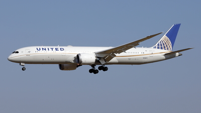 A picture of N29971 - Boeing 7879 Dreamliner - United Airlines - © Mitsuhiro Yamamoto