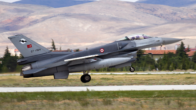 07-1004 - General Dynamics F-16C Fighting Falcon - Turkey - Air Force