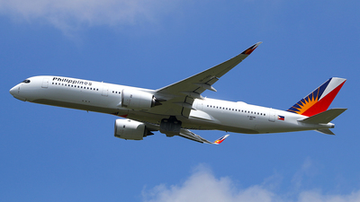 F-WZNA - Airbus A350-941 - Philippine Airlines