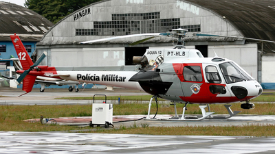PT-HLB - Helibr�s HB-350BA Esquilo - Brazil - Military Police of S�o Paulo State