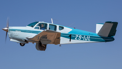 ZS-IJL - Beechcraft K35 Bonanza - Private