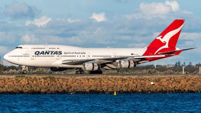 VH-OJU - Boeing 747-438 - Qantas - Flightradar24