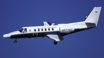 N6775C - Cessna 550 Citation II - United States - US Customs Service