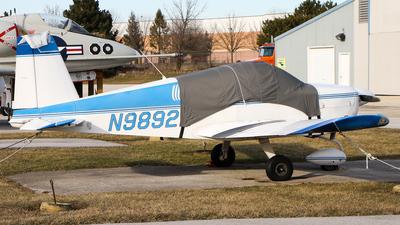 A picture of N9892L - Grumman American AA1B - [AA1B0492] - © C. v. Grinsven