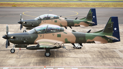468 - Embraer A-29B Super Tucano - Chile - Air Force