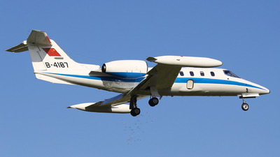 B-4187 - Bombardier Learjet 35A - China - Air Force