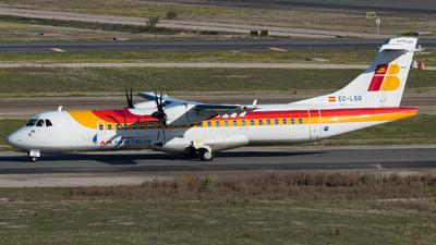 A picture of ECLSQ - ATR 72600 - Iberia - © Mateo León