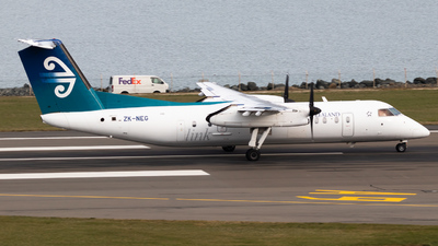ZK-NEG - Bombardier Dash 8-Q311 - Air New Zealand