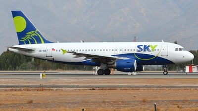 CC-AIB - Airbus A319-111 - Sky Airline
