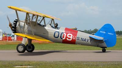 N5301N - Boeing E75 Stearman - Private