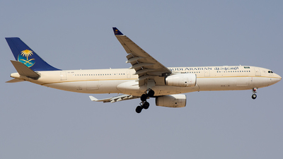 A picture of HZAQD - Airbus A330343 - Saudia - © Basil Lutfi