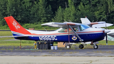 N9869C - Cessna R182 Skylane RG - United States - US Air Force Civil Air Patrol