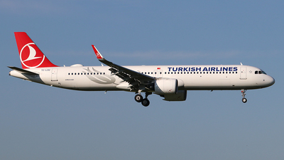 A picture of TCLSU - Airbus A321271NX - Turkish Airlines - © Ferenc Kolos