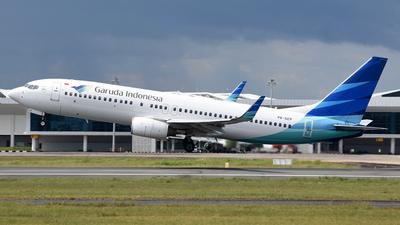 A picture of PKGEP - Boeing 7378AS - Garuda Indonesia - © Gusti Fikri Izzudin Noor