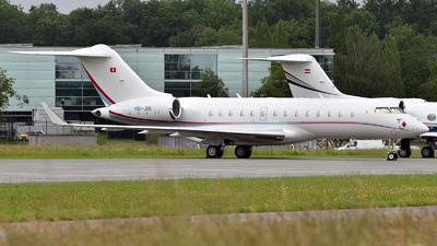 HB-JRI - Bombardier BD-700-1A11 Global 5000 - ExecuJet Europe